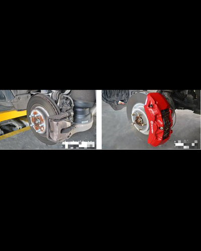 HỆ THỐNG PHANH BREMBO CHO RANGE ROVER EVOQUE
