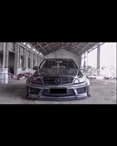 WIDE BODY KIT W204  ĐỜI 2013