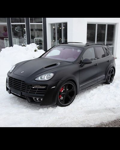 BODY KIT CAYENNE 2011 MẪU TECHART