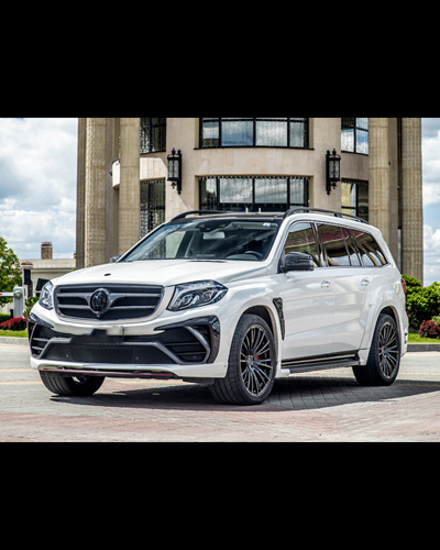 BODY KIT CARBON MERCEDES GLS MẪU LD