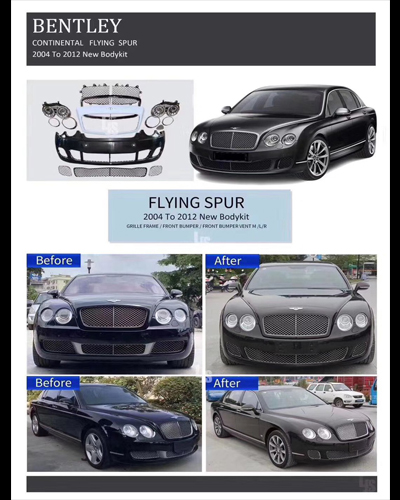 NEW BODYKIT BENTLEY CONTINENTAL FLYING SPUR 2004-2012