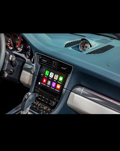 WIRELESS CARPLAY PORSCHE 911